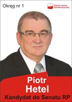 Piotr Hetel ulotka wyborcza