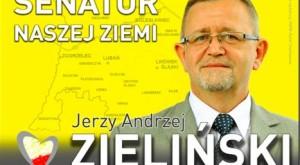 Jerzy Zieliński ulotka wyborcza