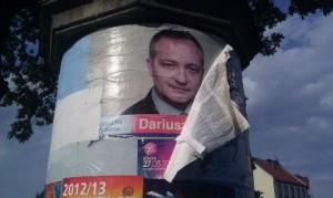Dariusz KWaśniewski plakat wyborczy