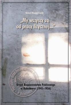 Książka o UB - okładka