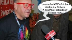 Wośp w Bolesławcu - Jurek Owsiak