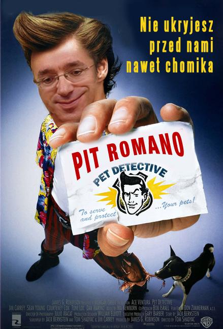 Tak nabijaliśmy się z limitu psów i kotów, Piotr Roman jako Psi Detektyw.