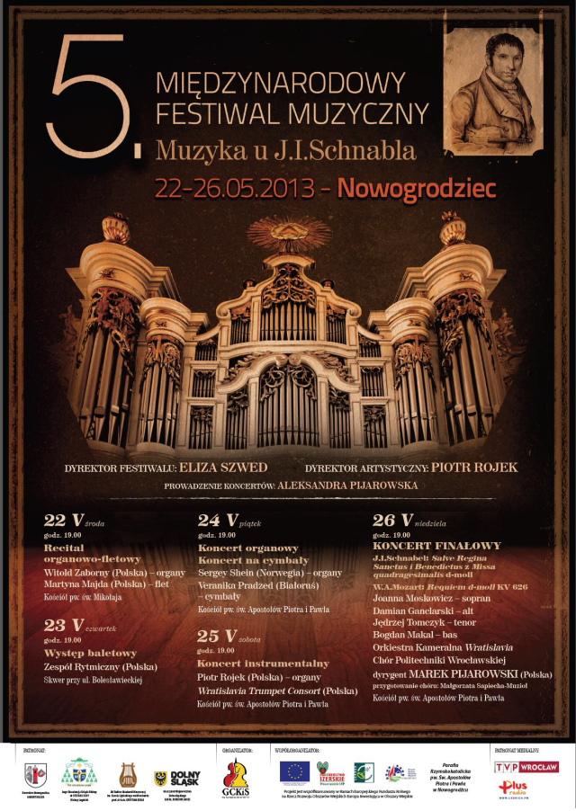 Plakat festiwal Schnabla