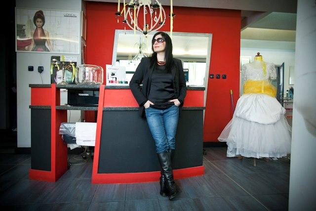 Irmina Jaśkiewicz w Salonie Urody Moryson