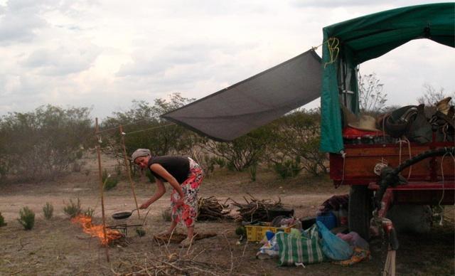 El Carretón del Desierto obóz