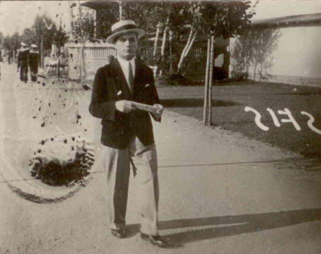 Jan Moryson w Gdyni przed wojną