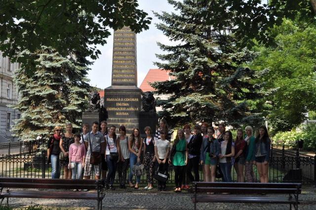 Rosjanie w Bolesławcu