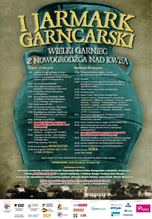 Plakat Dni Nowogrodźca