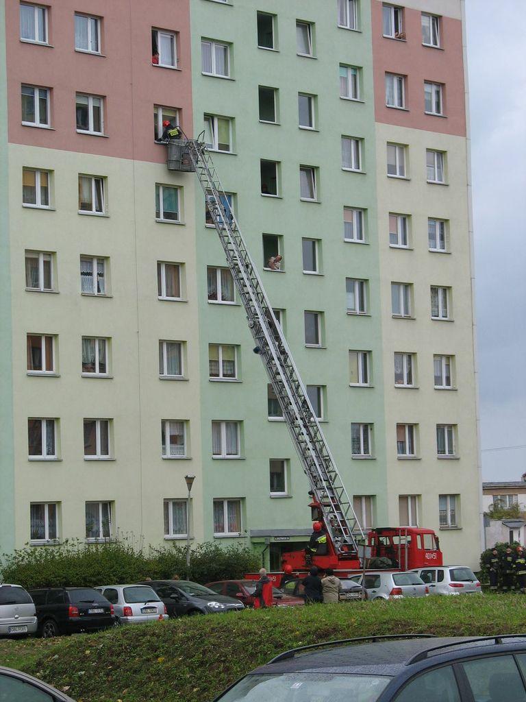 Straż na Gałczyńskiego