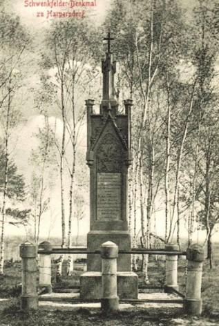 Pomnik w Harpersdorf