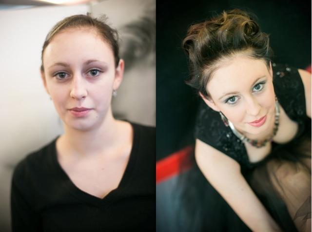 Aurelia przed i po stylizacji Moryson