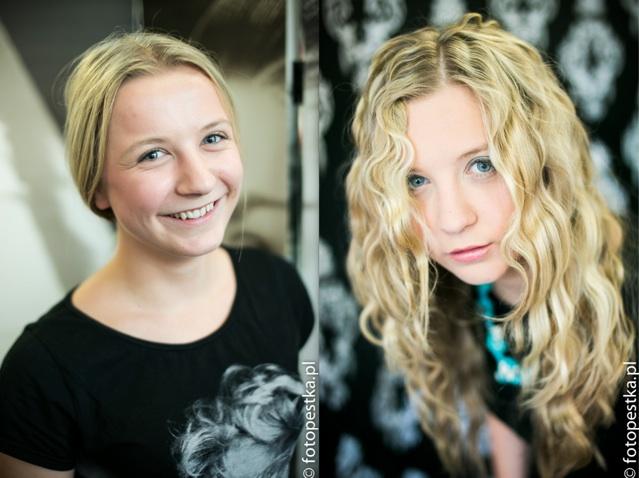Karolina przed i po stylizacji Moryson