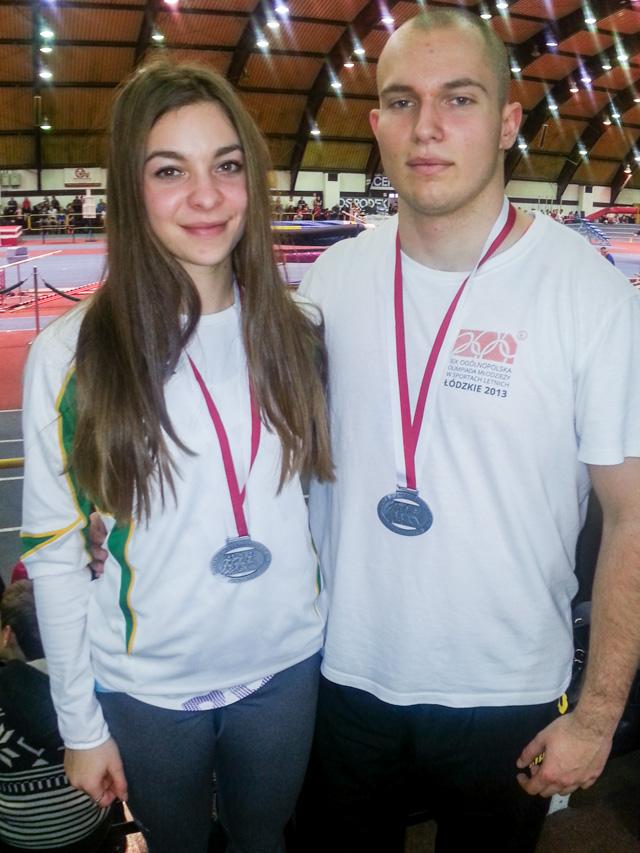 Ewa Ochocka i Kacper Olszewski w Spale