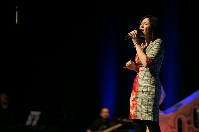 Agnieszka Musiał nie tylko dostała nagrodę ale i zaśpiewała podczas Gali.