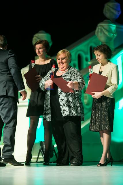 Anna Gorzkowicz (od lewej), Ewa Ołenicz-Bernacka, Anna Puk