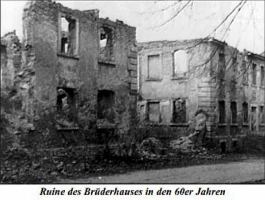 Gnadenberg ruiny z lat 60