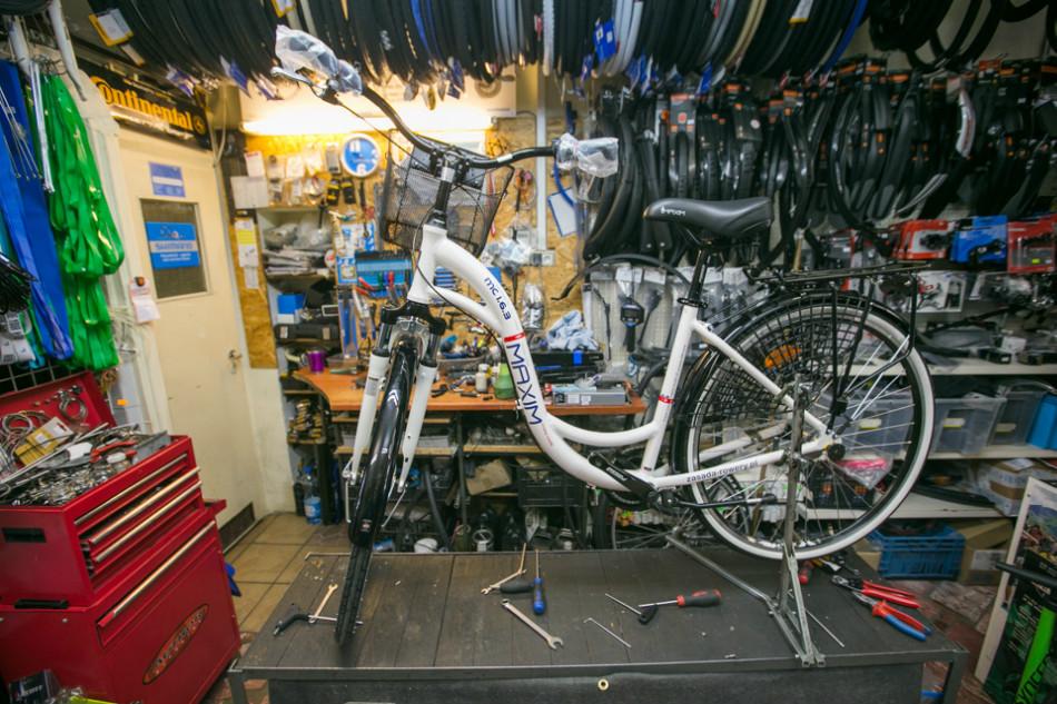 Serwis rowerowy gwarantuje kompetencję i pomoc