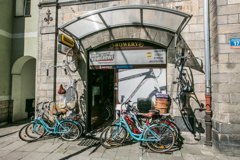 Sklep i wypożyczalnia rowerów w Bolesławcu