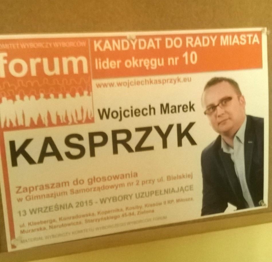 Kampania Wyborcza W Szkole Ulotki I Plakaty Kasprzyka