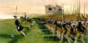 Carl Rochling - Atak piechoty pruskiej pod Dobromierzem