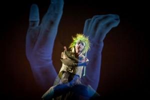 01.09.2011 Wroclaw Wroclawski Teatr Pantomimy spektakl pt. Mikrokosmos rez. Konrad Dworakowski foto Bartlomiej Sowa