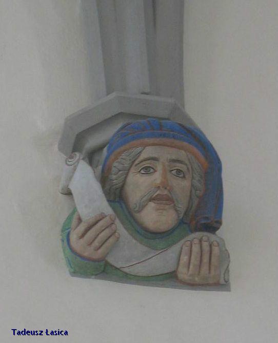 Il. 4 Ozdobna konsola w kościele mariackim w Görlitz