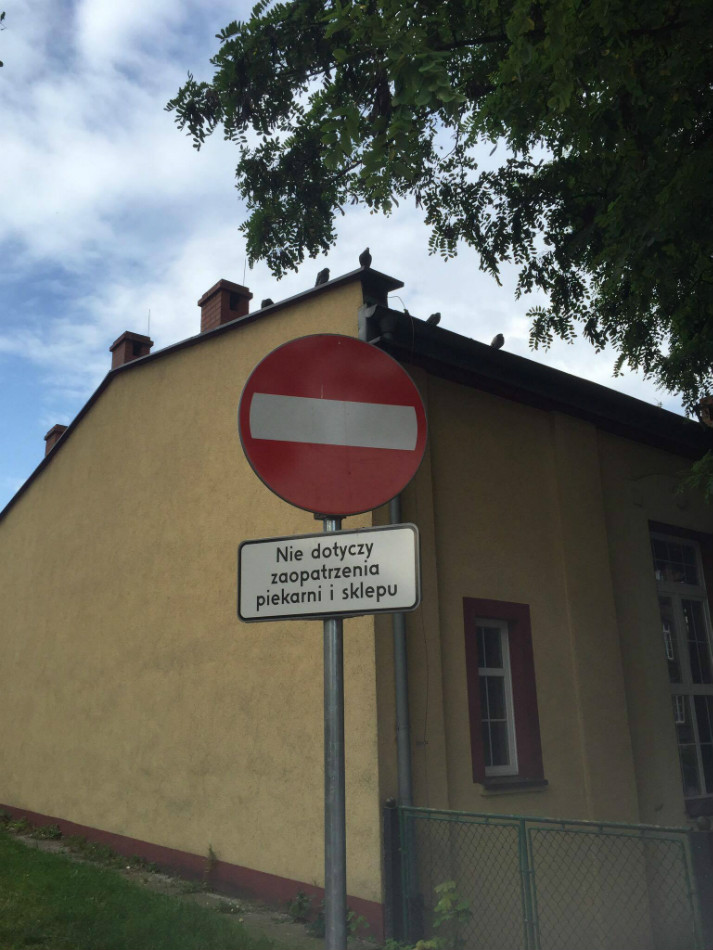 Na zapleczu ulicy Karola Miarki do niedawna mogły istnieć wyjątki.