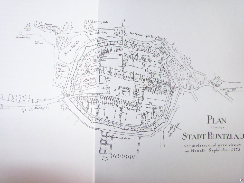Il. 2 Plan miasta z sierpnia 1773