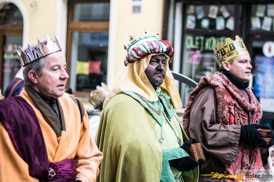 Orszak trzech króli w Bolesławcu