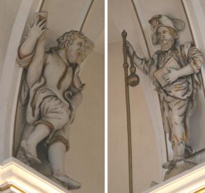 Il. 2 Apostołowie Andrzej i Jakub Starszy