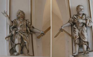 Il. 4 Apostołowie Bartłomiej i Tomasz