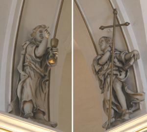 Il. 3 Apostołowie Jan i Jakub Młodszy
